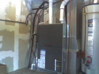 Residential Heating New Furnace After