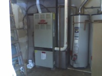 Old Furnace before