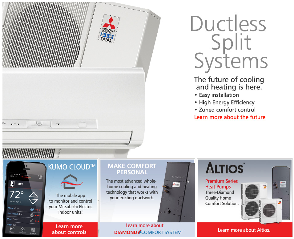 Mitsubishi Diamond Contractor Earth Energy - Mitsubishi air conditioning dealers